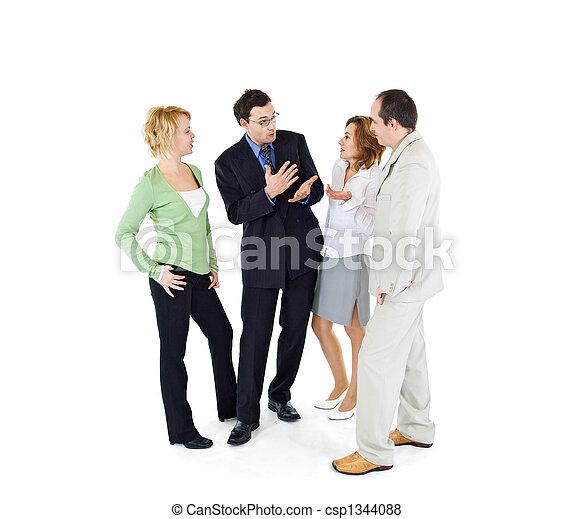 Office gossip people group - csp1344088