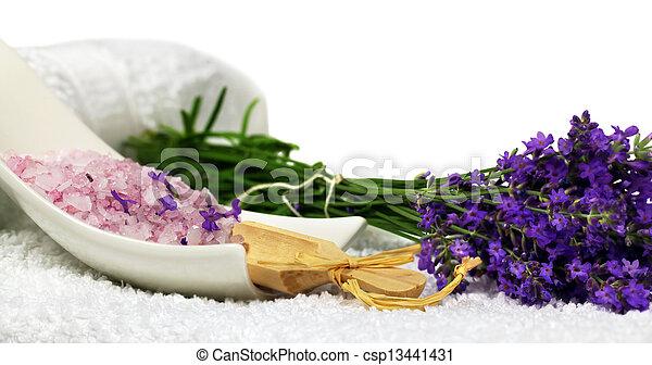 Stock fotos von lavendel spa dekoration lavendel bad - Dekoration lavendel ...