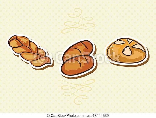 Logos Panaderia Vector Vector Panadería Iconos