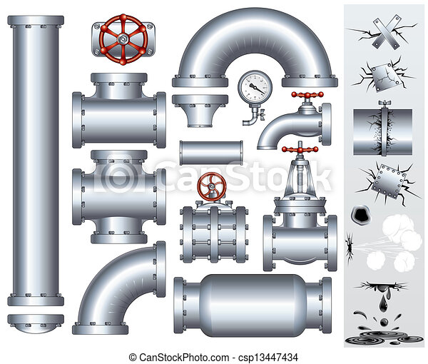 Industrial Conduit and Pipelines Parts - csp13447434