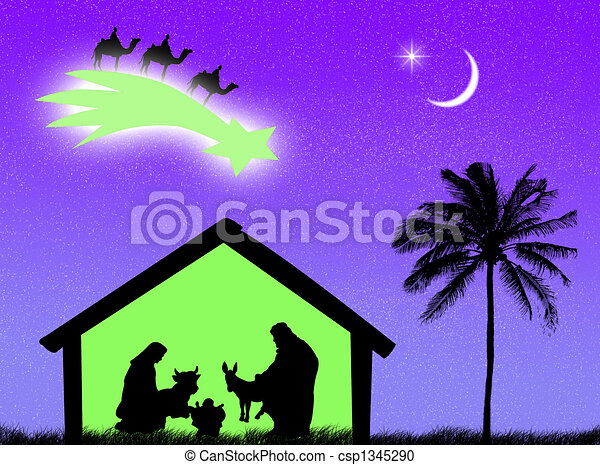 Nativity - csp1345290