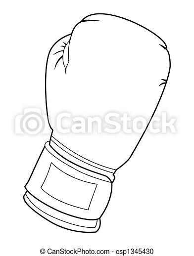 Comment dessiner des gants de boxe - Gant de boxe dessin ...