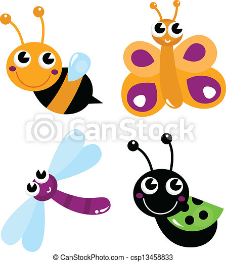 Cute insect drawing - photo#41