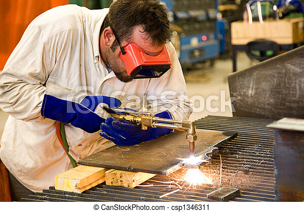 Worker in Metal Factory - csp1346311