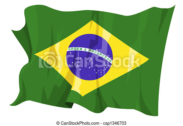 Flag series: Brazil - csp1346703
