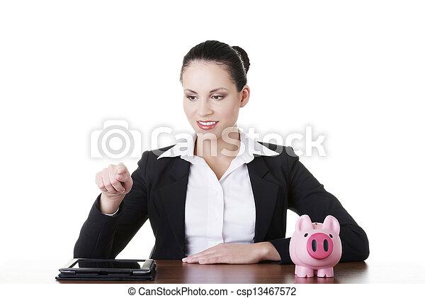 Modern banking concept.  - csp13467572