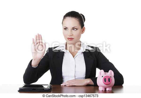 Modern banking concept. - csp13467573