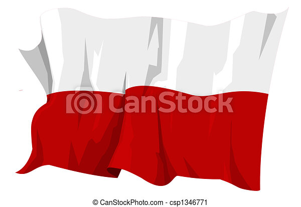 Flag series: Poland - csp1346771