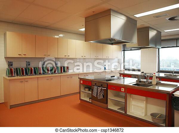 industrial kitchen - csp1346872