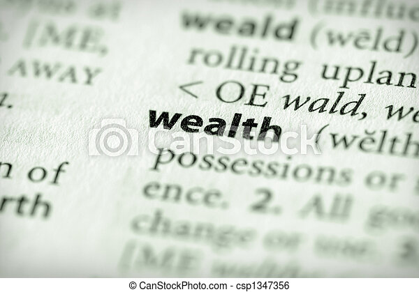 Wealth - csp1347356