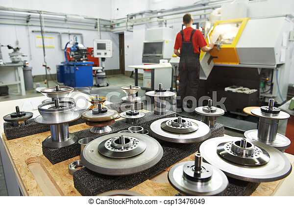 industrial tools at workshop - csp13476049