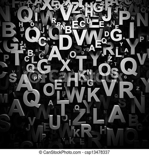 P Alphabet Wallpaper In 3d Stock Illustration - 3D letters wallpaper - stock illustration ...