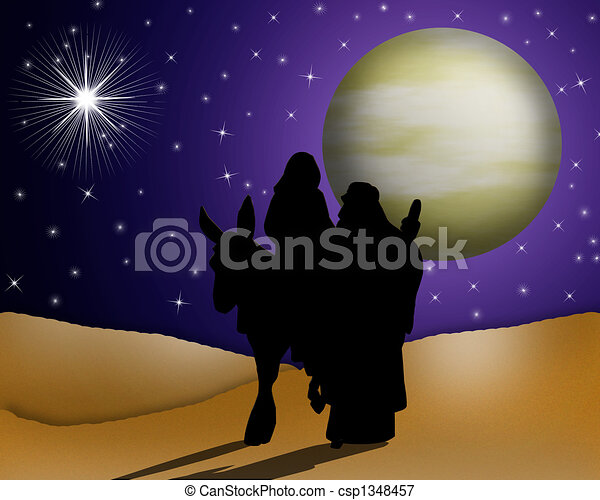 noël, Nativité, religieux - csp1348457