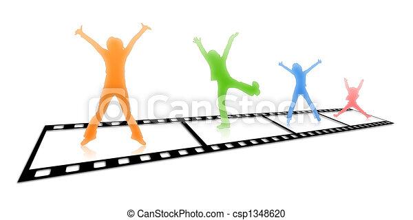 Film strip - csp1348620