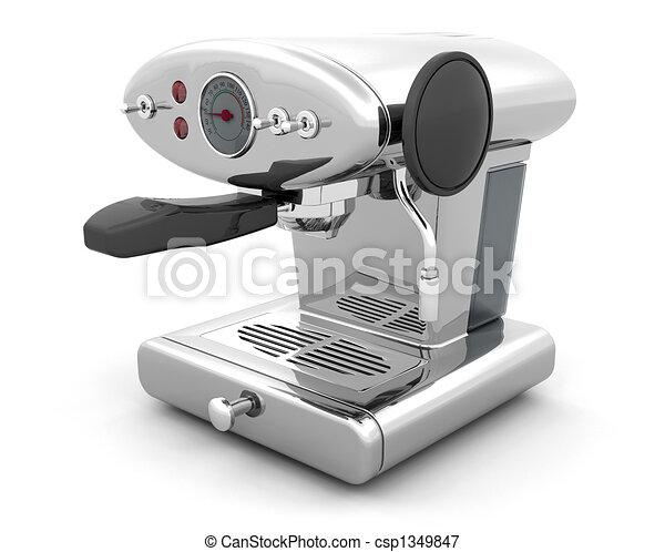 Coffee machine - csp1349847