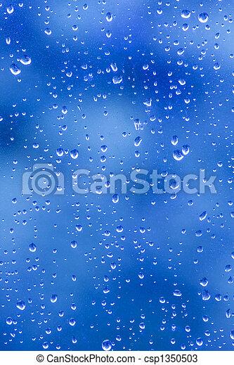 rain drop blues - csp1350503