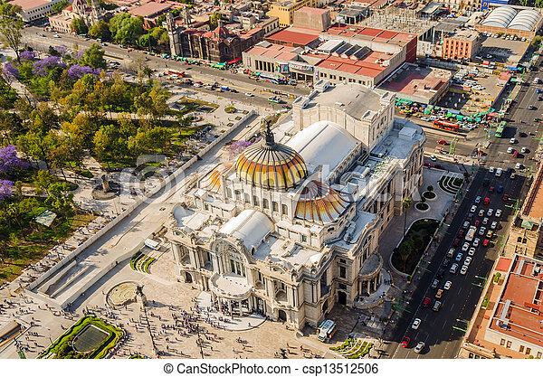 Mexico City Fine Arts Museum - csp13512506