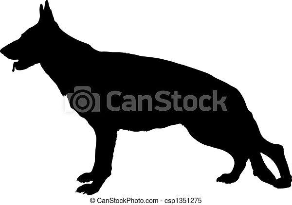 German Shepherd dog - csp1351275
