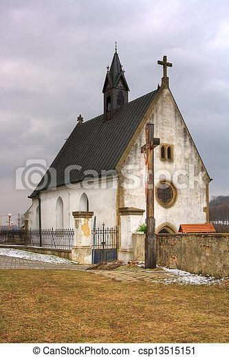Small church in Velehrad Czech republic - csp13515151
