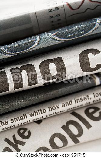 newspaper - csp1351715