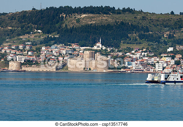 Stock Photo of Kilitbahir Castle in Canakkale,Turkey. The ...