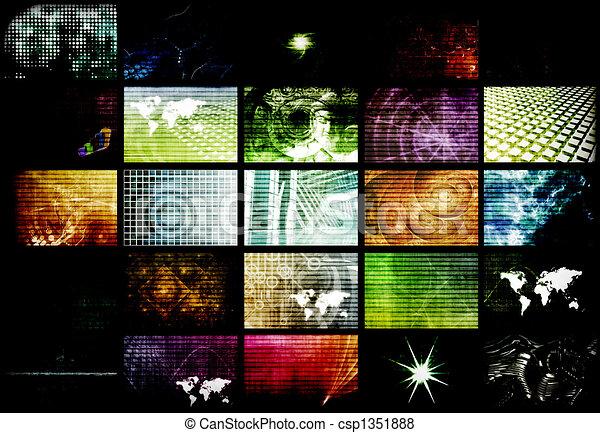 Futuristic Network Energy Data Grid - csp1351888