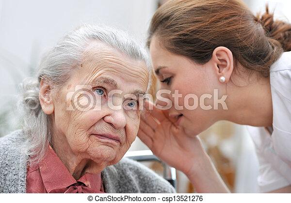 Nursing home - csp13521276