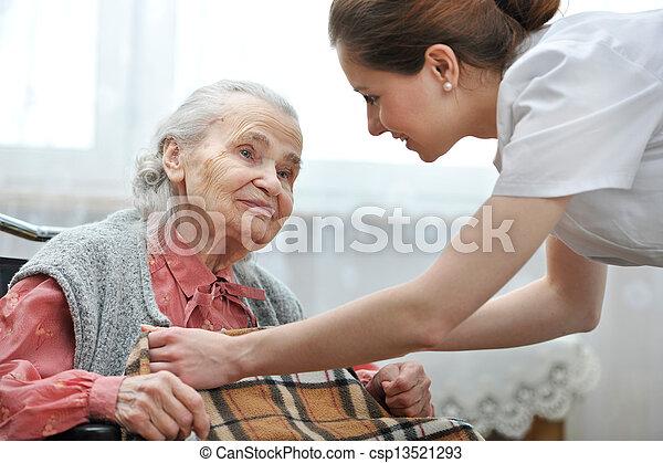 Nursing home - csp13521293