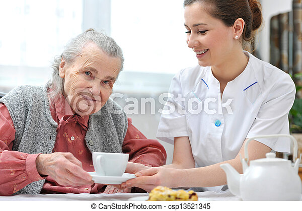 Nursing home - csp13521345