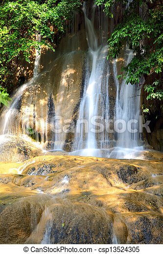 Waterfall - csp13524305