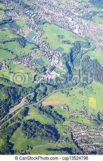 Aerial view - csp13524798