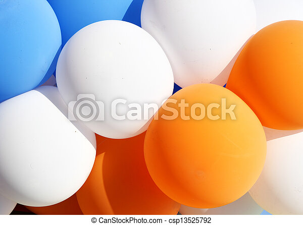 Colorful balloons - csp13525792