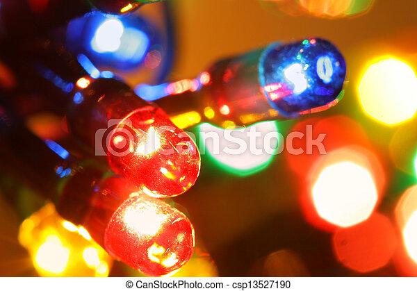 Christmas illumination - csp13527190