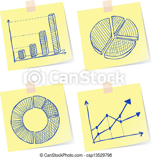 Charts sketches - csp13529798