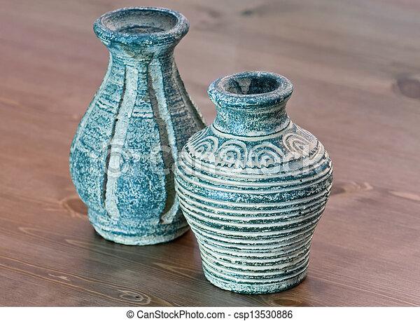 terracotta, Vazen - csp13530886