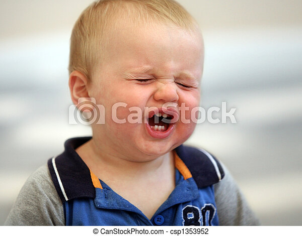 Crying baby - csp1353952