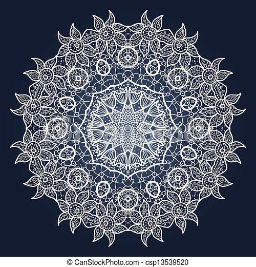 illustration vecteur de oriental mandala motif oriental mandala motif rond. Black Bedroom Furniture Sets. Home Design Ideas