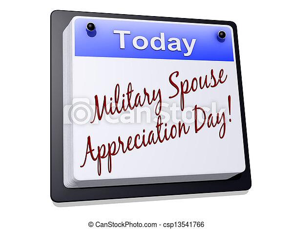 Military Spouse Appreciation Day - csp13541766