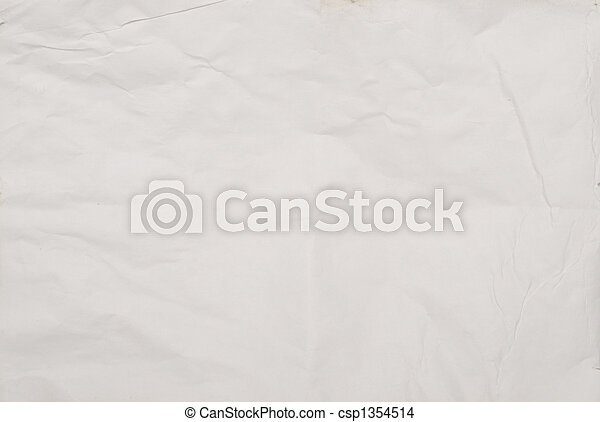 wrinkled paper - csp1354514