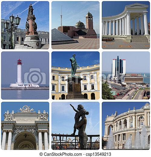 landmarks of Odessa - csp13549213