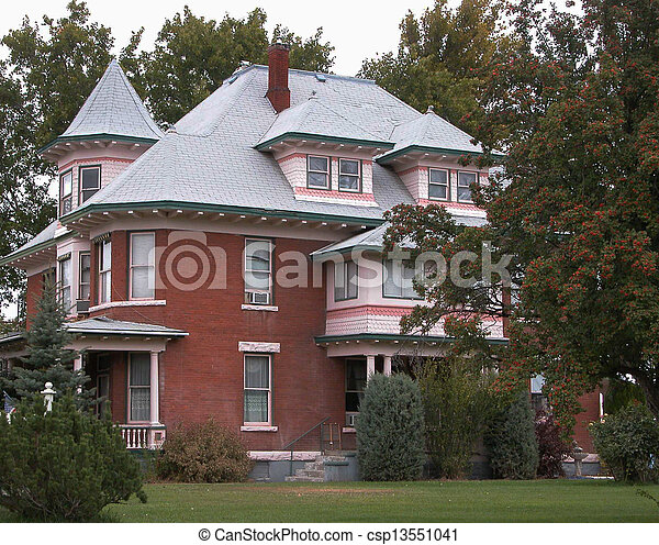 Historic Queen Anne            - csp13551041