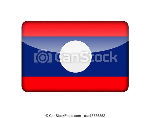 The Laotian flag - csp13556852