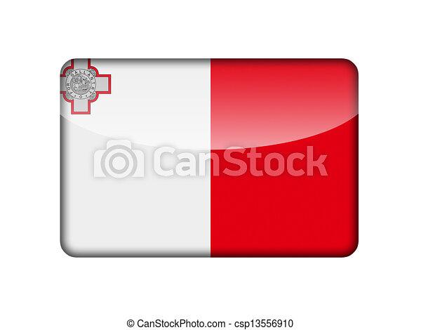The Maltese flag - csp13556910