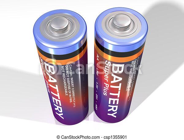 Pair of batteries - csp1355901