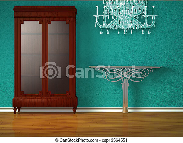 photo placard m tallique table minimaliste int rieur. Black Bedroom Furniture Sets. Home Design Ideas