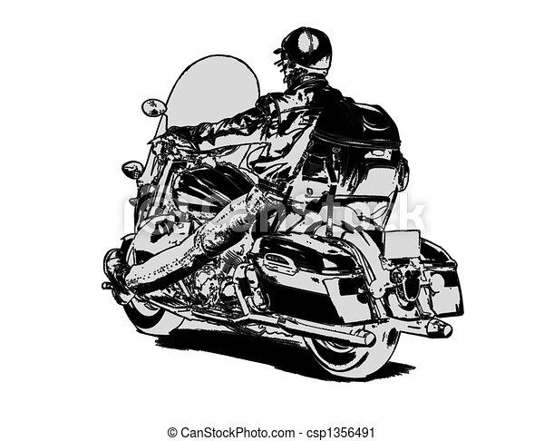 Easy rider - csp1356491