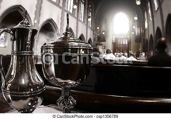 Photo of catholic church - csp1356789