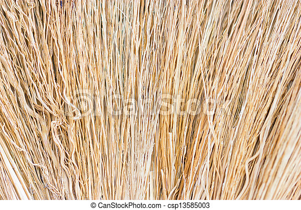 Close up of straw as background. - csp13585003