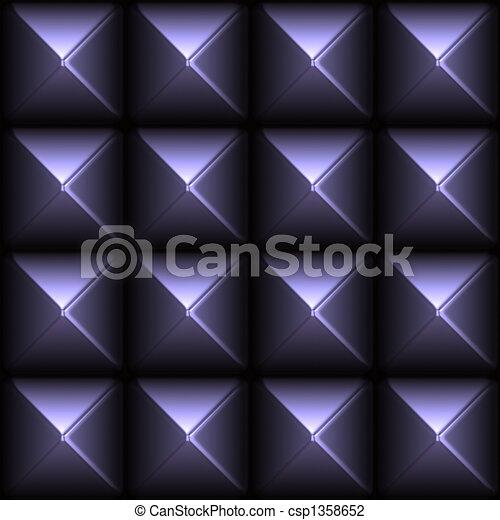 Futuristic Sleek Metal Stud Grid - csp1358652