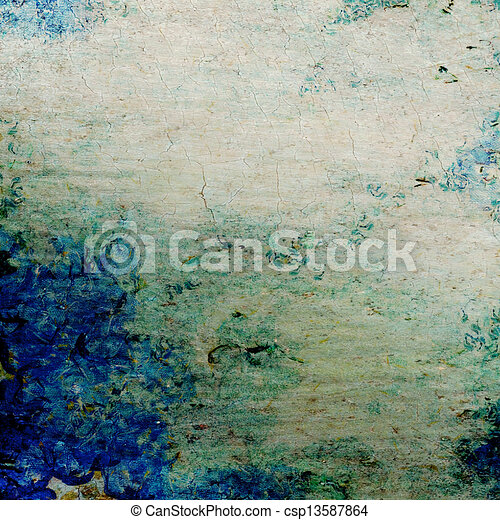 Highly detailed abstract texture or grunge background - csp13587864
